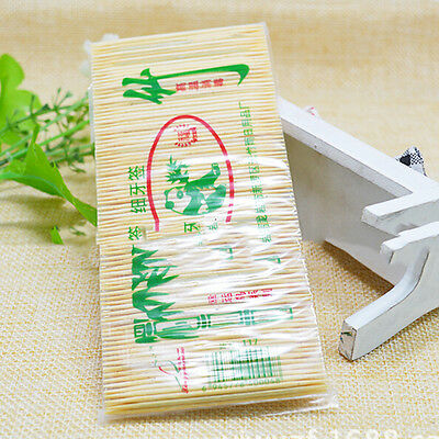 1 Bag Bamboo Toothpicks Cocktail Stick Appetizer Sticks Are Disposable HU