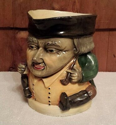 Nice Large Vintage Toby Jug Mug Royal Doulton? Very Detailed Marked L-O Ar.cb.mi