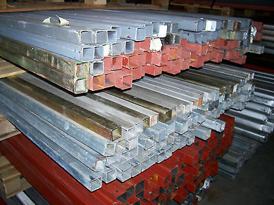 steel rhs tube fence posts stock yards trailer