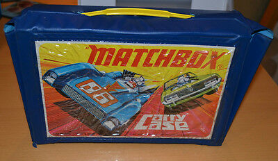 Matchbox Lesney Superfast 24 Diecast Model Car Collectors Case with 2 trays