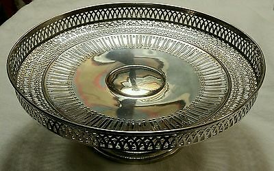Vintage Gorham Reticulated Sterling Silver Footed Dish 228 Grams