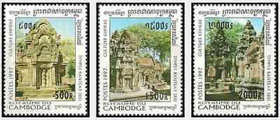 Timbres Cambodge 1416/8 ** lot 17081