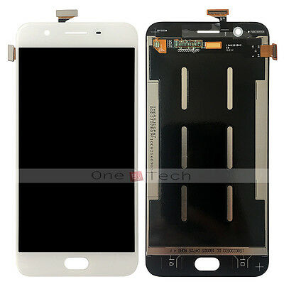 """White LCD Display Touch Digitizer Glass Assembly Screen For 5.5"""" Oppo F1s A1601"""