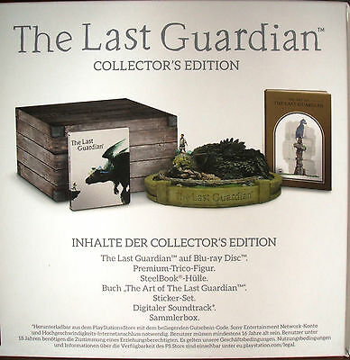 The Last Guardian Collector´s Edition PS4 NEU&OVP