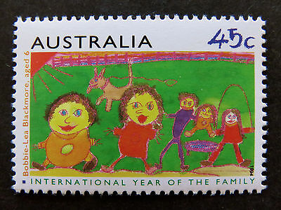 Australian Decimal Stamps:1994 International Year of Family - Single MNH