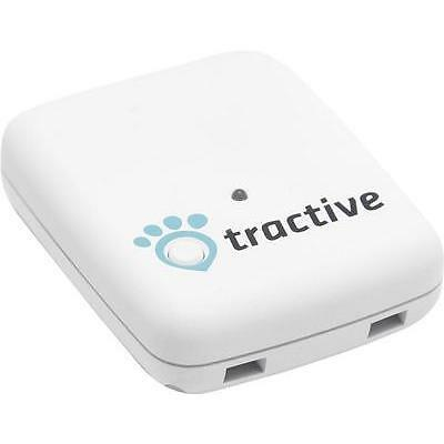 Traceur GPS tractive TRATR1 blanc