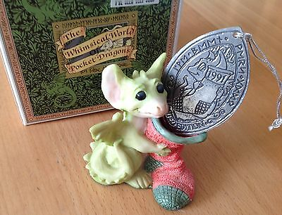 Pocket Dragon   I'VE BEEN VERY GOOD CHRISTMAS 1991 Mint & Boxed