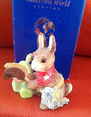 cws real musgrave bunnies in bloom cactus jack *signed piece*