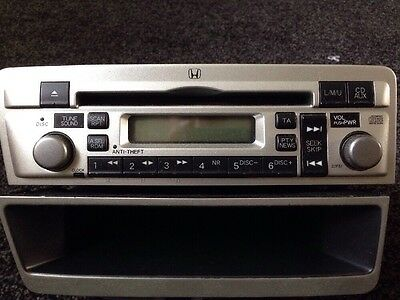Official Honda Civic CD Stereo/radio And Shelf (2001-2004/5) EP Hatchback
