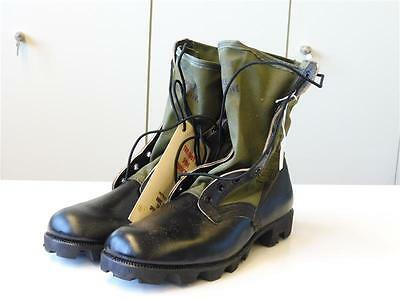US Army after WWII, Hot weather jungle boots dated 68, size 9N, unissued Vietnam