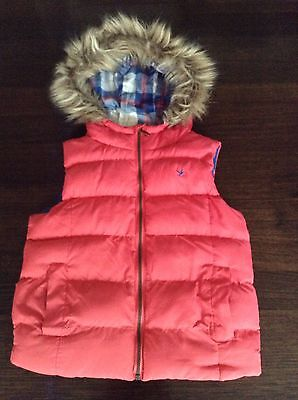girls gilet. pink. NEW. SIZE 10-11