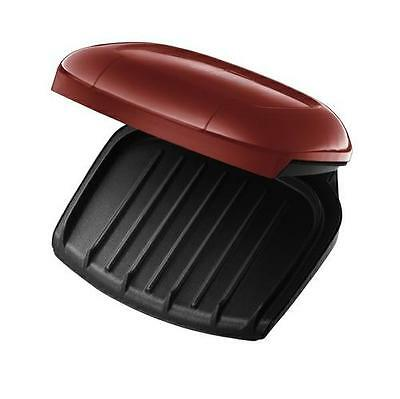 George Foreman Red Grill / Grilling Machine - 2 Portion 18841