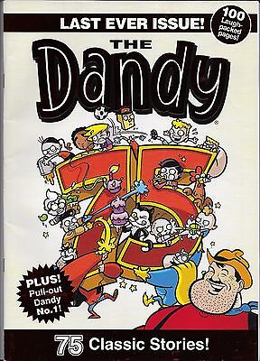 The Dandy - Last ever issue - includes copy of 1st ever Dandy comic inside