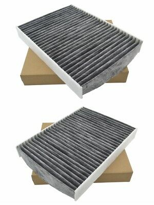 2pcs OEM Quality Cabin Air Filter for Nissan Rogue 2014-2016 OE#27277-4BU0A