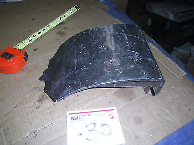 Farm Implement Part Plow Baler Mf 120 Massey Ferguson Outboard Skid Plate Outer