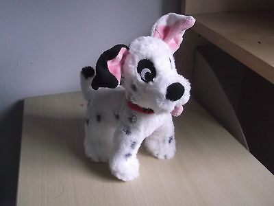 Disney Store Patch 101 Dalmations puppies dog soft toy plush puppy