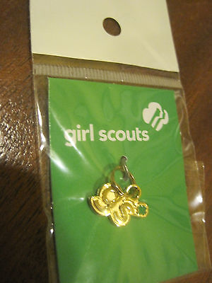 NEW Girl Scout Charm gold GS shorthand pendant Jewelry Bracelet *Christmas GIFT