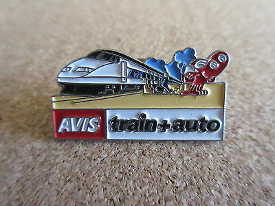 Avis Train Auto Pin Badge