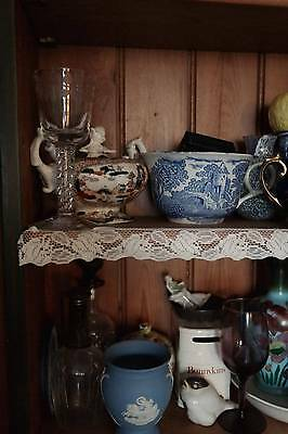 Vintage Cream classic AVA cotton lace shelf trim ,interior projects,cushions 5m