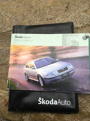 Skoda Octavia Owners Handbook And Wallet