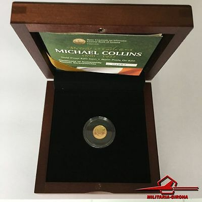 Ireland Irland 2012 .999 Gold Proof 20 Euro Coin Michael Collins w/ luxury case