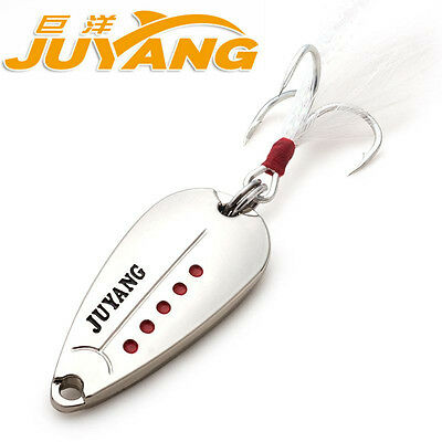 JUYANG beatles metal board mandarin bait spoon fishing lure
