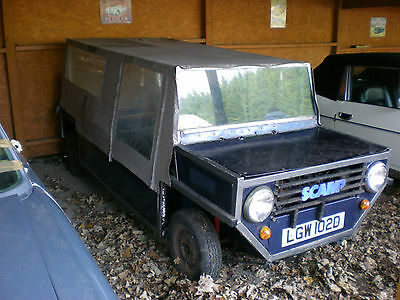 1966 Mini Scamp - Very Sound - Non Runner But Has Spare Engine + Parts - Moke