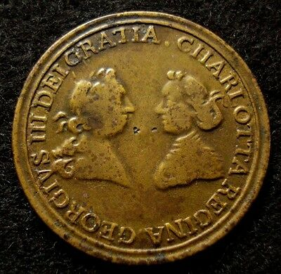 1762 Queen Charlotte Birthday Colonial Medal