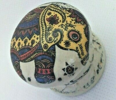 Elephant Cream Crackle Age Cupboard Cabinet New Knob Drawer Pull Wardrobe Handle