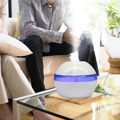 LED Air Aroma Essential Oil Diffuser Aroma Aromatherapy Humidifier Ultrasonic 1x