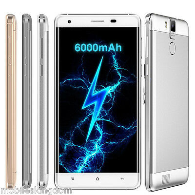 "OUKITEL K6000 PRO 5.5"" 4G Android 6.0 OctaCore Smartphone 3GB+32GB 16MP Touch ID"