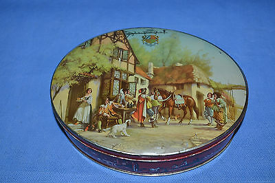 Vtg Riley's Toffee Tin, Musketeers Tavern Horses England