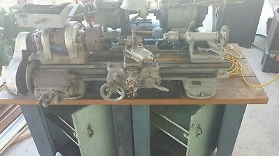 """SOUTH BEND HEAVY """"10""""  LATHE fully loaded with tooling SACRIFICE"""