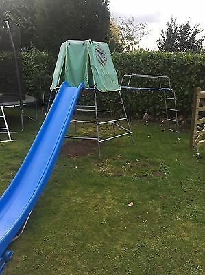 Tp Toys Jungle Gym and slide with slide extension
