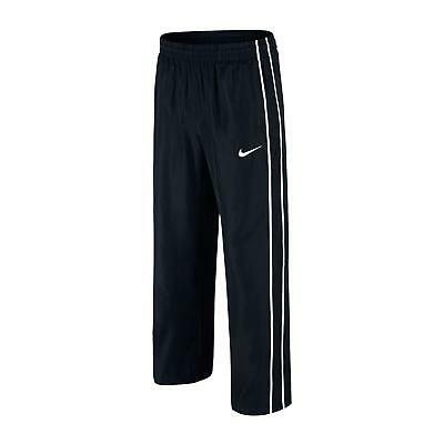 NIKE boys/Junior lined WOVEN tracksuit bottoms pants  BLACK LINING BE DRY&WARM