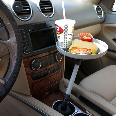 Evelots Automobile Swivel Tray For Car Truck Food Snacks Electronics, Cup Holder
