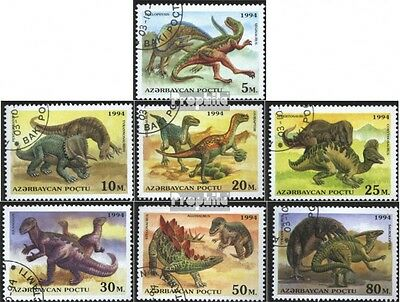 Aserbaidschan 153-159 (complete issue) used 1994 Prehistoric An