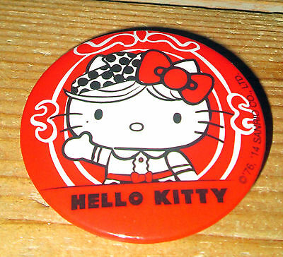 Hello Kitty badge, promotional item, new