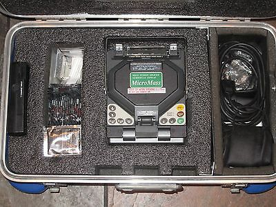 Sumitomo Type-65M12 MicroMass SM MM Ribbon Fusion Splicer with accessories