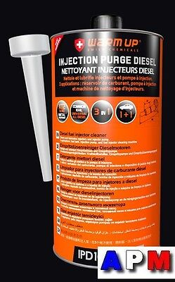 Nettoyant Injection Diesel Warm Up IPD1000 PRO ( 1 Litre )