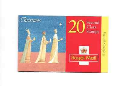GB 1996 Christmas 2nd Class Stamps Barcode Booklet - LX 12
