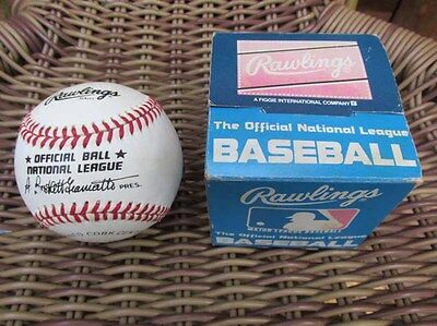Rawlings The Official National League Baseball Boxed 1985