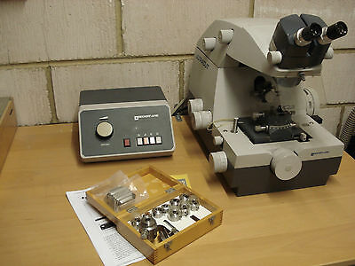 Reichert-Jung Ultracut electron microscope microtome + expensive accessories.