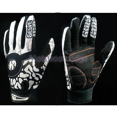 Anti-slip Cycling Bike Bicycle Motocross Ski Full Finger Warm Gloves Halloween L