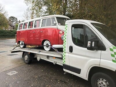classic vehicle, car recovery, car collection, transporter recovery service, vw