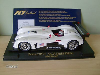 FLY  PANOZ LMP-1  USA SPECIAL EDITION  E91  NEW on PLYNTH + Card  #2751