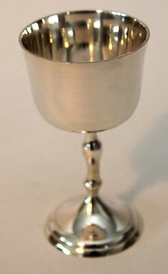 """Silver plated 6"""" Goblet Chalice"""