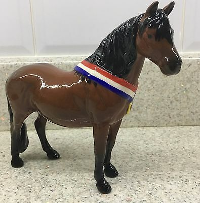 Beswick Horse Pony Dartmoor Another Bunch Brown Gloss Model Ltd Edition Perfect