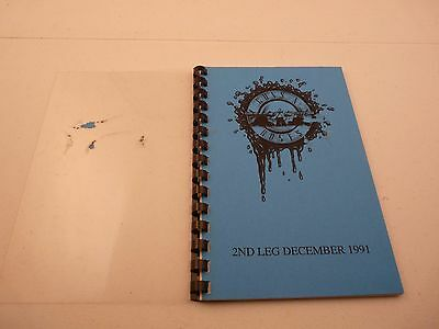 Guns & Roses RARE 1991 Use Your Illusion Concert Tour Itinerary Book 2nd Leg