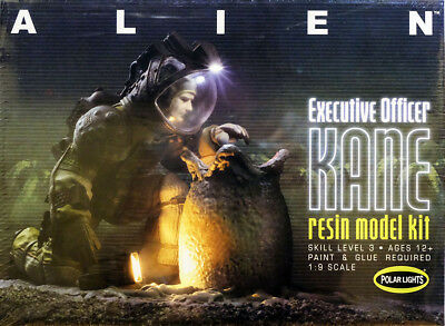 ALIEN Executive Officer Kane Szene 1:9 Model Kit Bausatz Polar Lights POL912